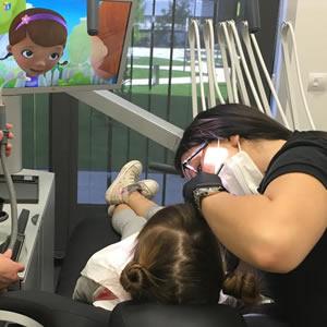 Andare dal dentista è in realtà un gioco